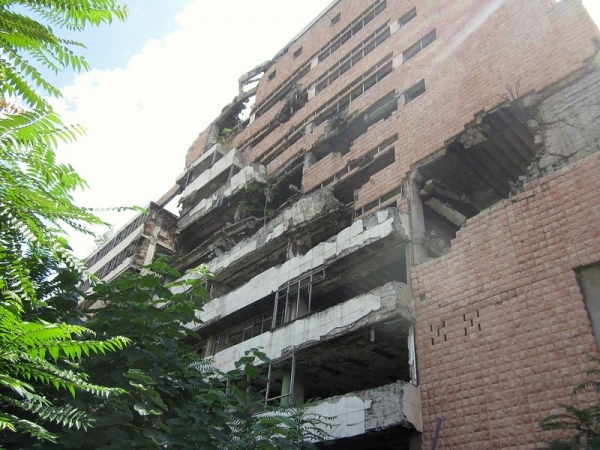 Bomb Damaged Building - Belgrade