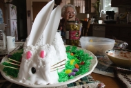Rabbit Cake and Great Grandma