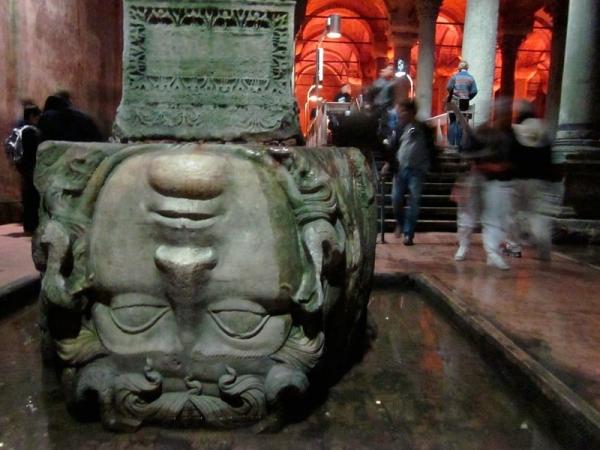 Medusa in Basilica Cistern
