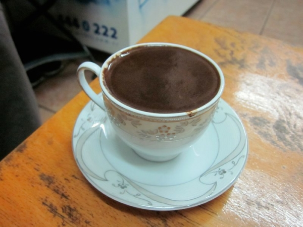 Turkish Coffee at Manda Batmaz
