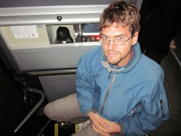 Mike's Seat for Night Bus