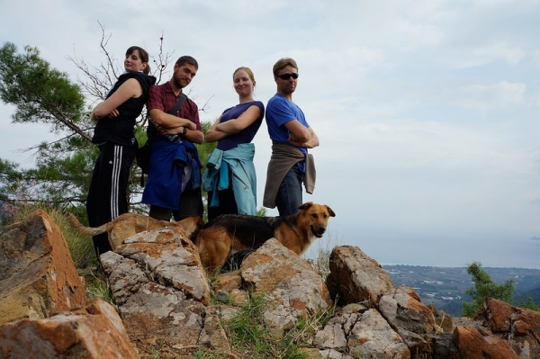 Chimera Flames Hike - Olympos