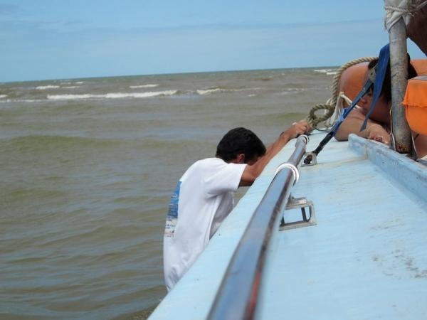 Ferry Stuck Needs a Push