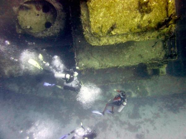 Halliburton Wreck
