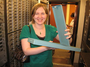 Ashley and Our Safety Deposit Box
