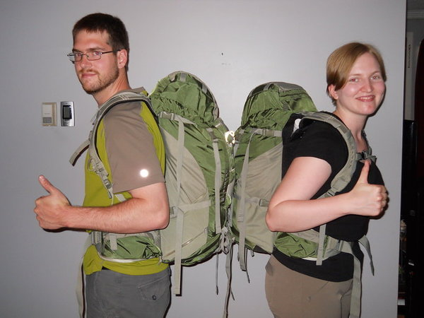 Mike & Ashley with our Kestrel 38's