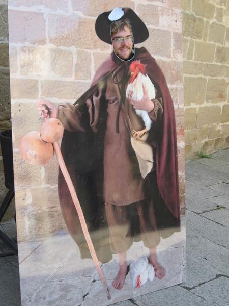 Mike as a Pilgrim