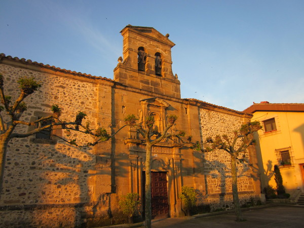 Church at sunrise