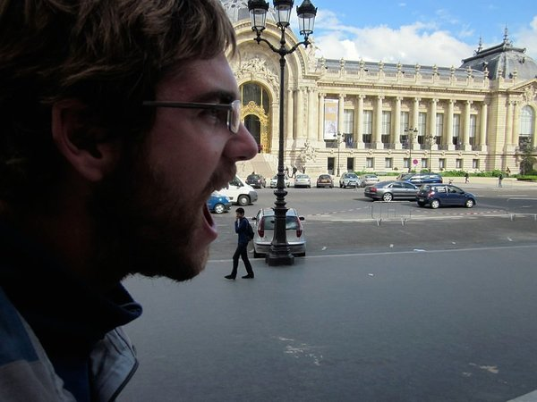 Mike continues eating his way through Paris...