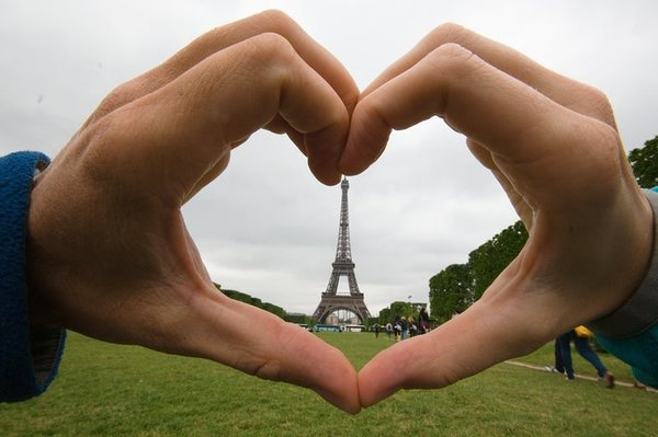 We heart Paris