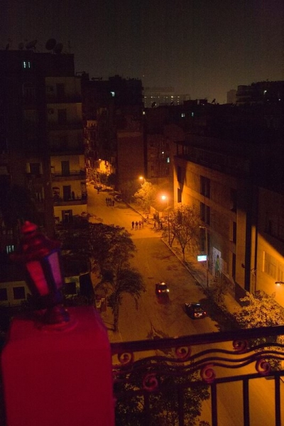 View From Our Balcony - Cairo