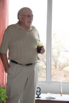 Grandpa on his 77th birthday