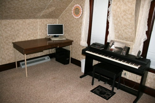 Clean Spare Room