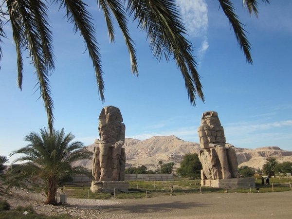 Colossi of Memnon - Valley of the Kings Tour