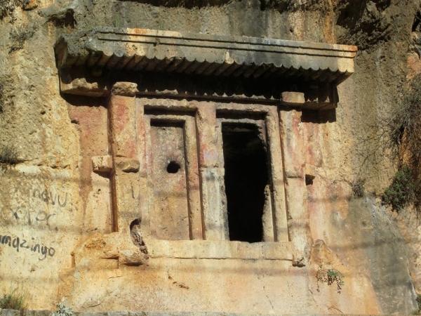 Rock Cut Tombs - Fethiye