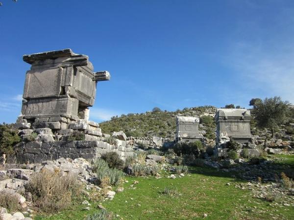 Sarcophagus - Lycian Way