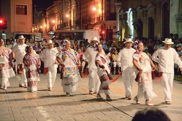 Mayan dancing