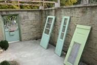 Painting doors