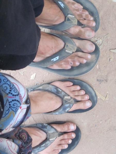 Diry Feet
