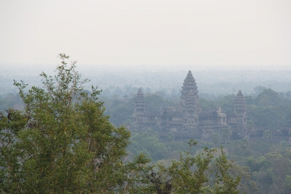 View of Angkor Wat from Phnom Bakheng