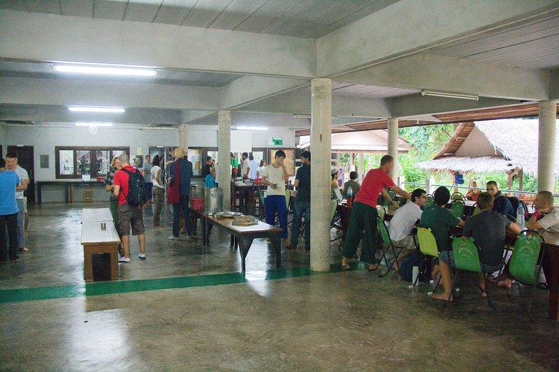 Suan Mokkh - Meal Hall
