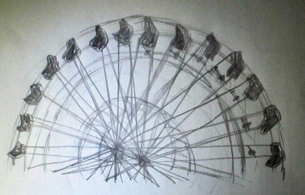Ferris Wheel Goes Forward and Back