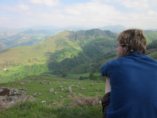 Mike in the Pyrenees