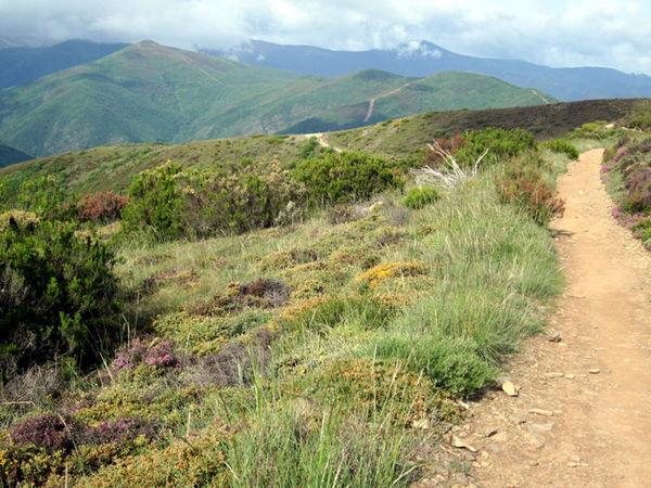 Walking through the mountains