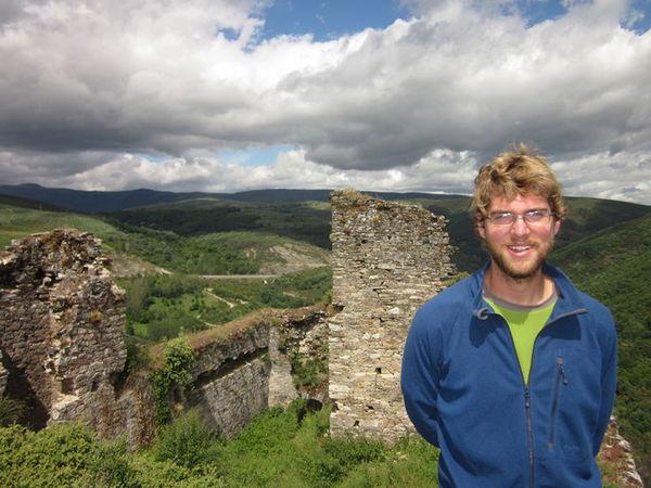 Castle ruins at Vega de Valcarce