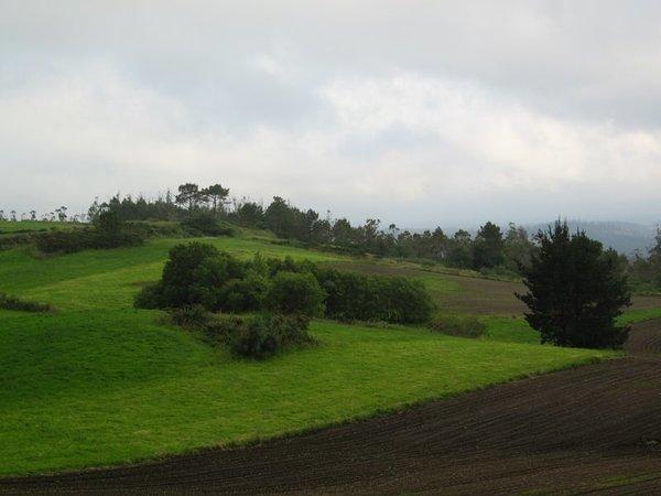 Between Santiago and Fisterra